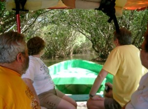 Jungle Tour Boat Ride Flora & Fauna 3 Palos Lagoon in Acapulco