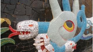 Diego Rivera´s mosaic mural