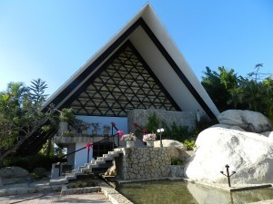 Chapel of Peace, Trouyet Cross in Acapulco